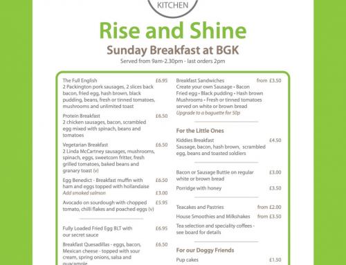 Sunday Breakfast and Brunch
